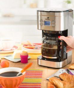 Cafetière programmable isotherme Family Coffee de Senya en inox