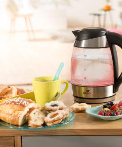 Bouilloire en verre à température réglable tea Colors de Senya