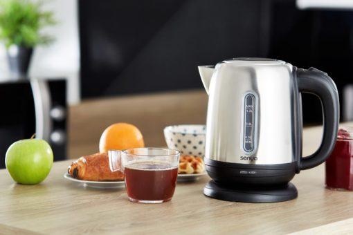 Bouilloire électrique senya en inox de 1,2L Little tea noir