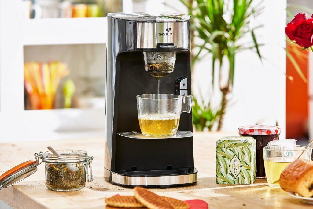Machine à thé, théière électrique noir Tea Time de Senya