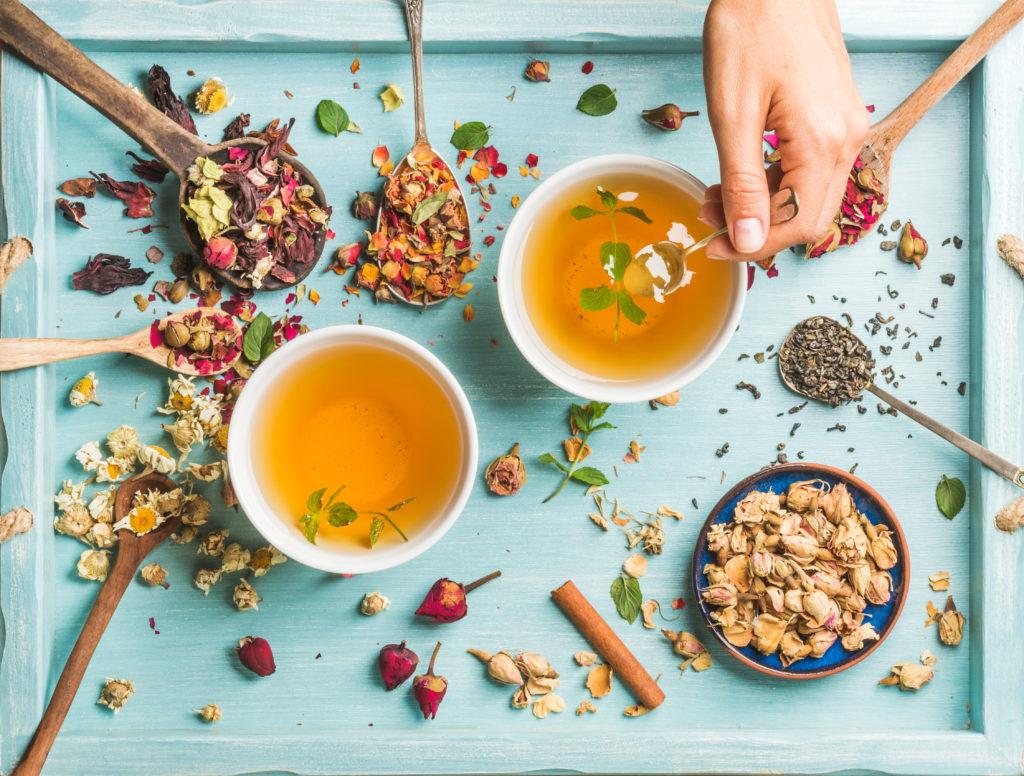 Thé servit après passage à la machine à thé électrique de Senya