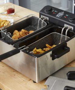 Friteuse électrique inox cuve amovible inox 6L Family Fryer 3000W