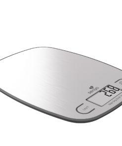 • Balance cuisine plateau en inox avec une capacité maximale de 5 kg • 4 capteurs de haute précision pour vous garantir la plus grande exactitude