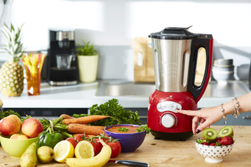 Blender Cook&Ice Rouge version 3 commercialisé par Senya