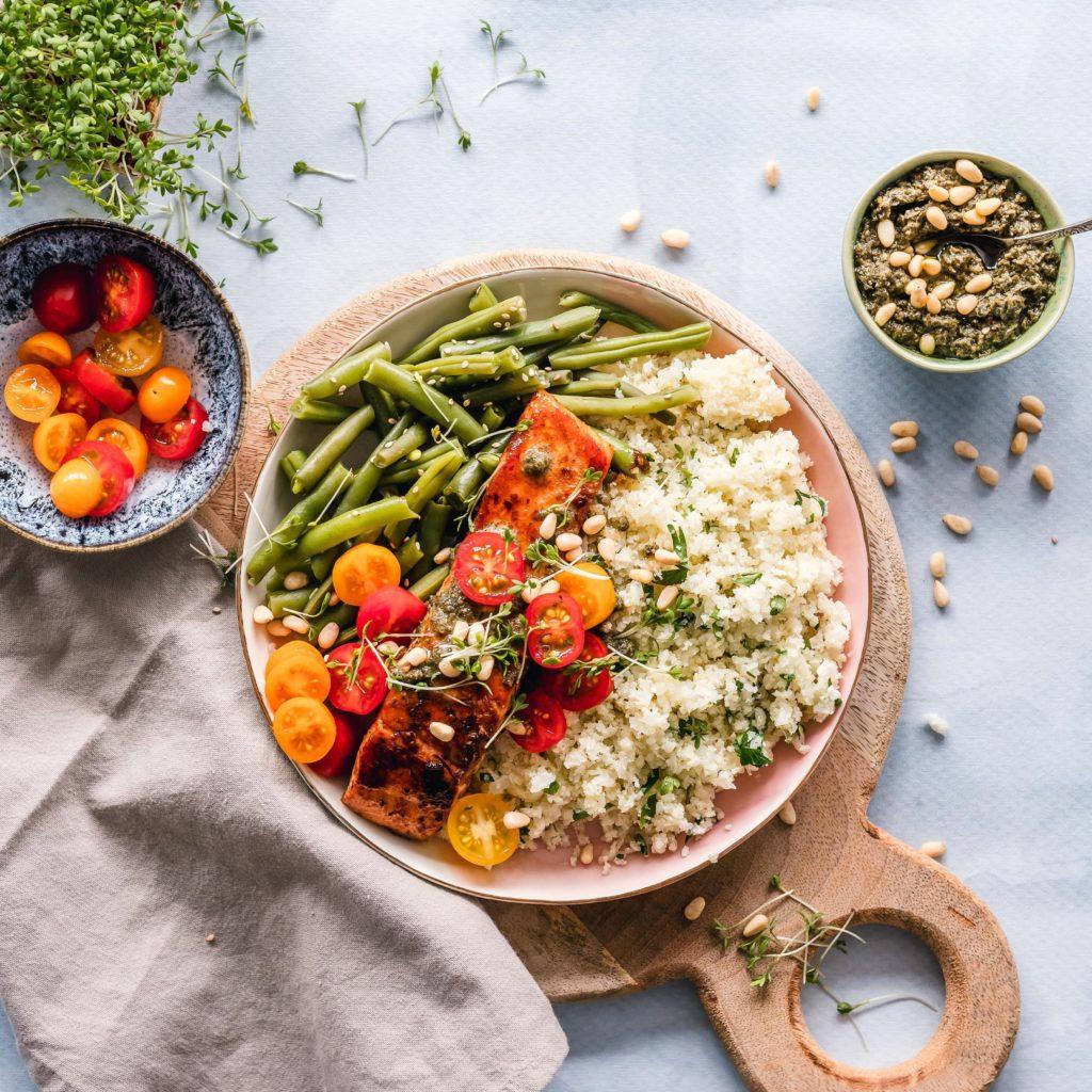 Cuisson vapeur de legumeset de légumes réalisés avec le Blender Cook&Ice Senya