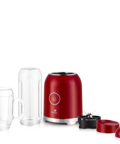 bender smoothie de Senya, couleur rouge, 250W, Juicy Delight