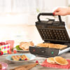 Appareil à croques et gaufres 2en1 Duo Waffle de Senya