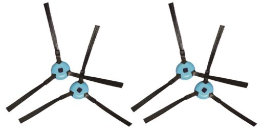 Lot de 2 jeux de brosses rotatives latérales pour aspirateurs robot connectés My Little Chef