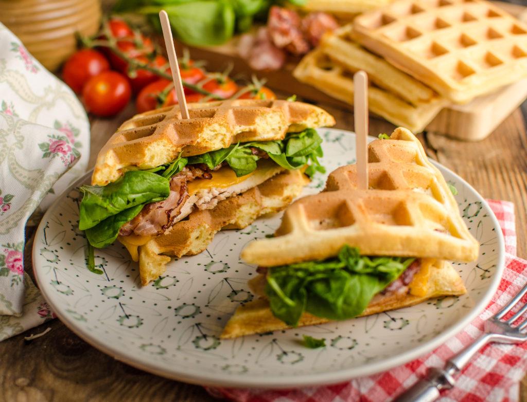 gaufre façon sandwich